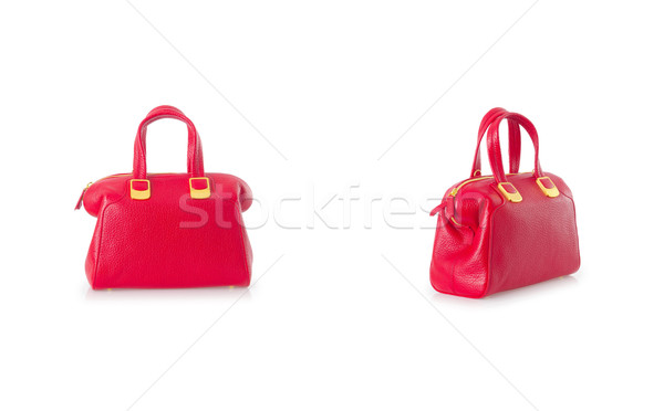 Woman bag isolated on the white background Stock photo © Elnur