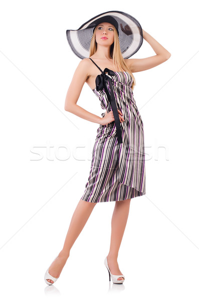 Woman in summer vacation concept Stock photo © Elnur
