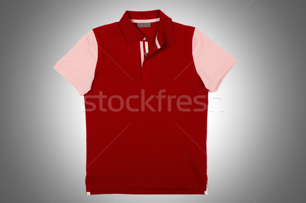 Homme tshirt isolé blanche Shopping rouge Photo stock © Elnur