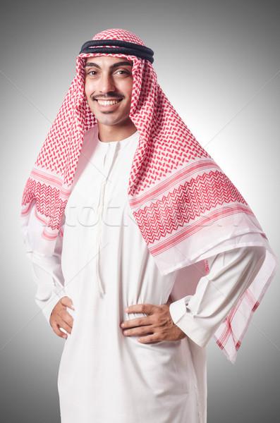 Diversità arab bianco business felice lavoro Foto d'archivio © Elnur