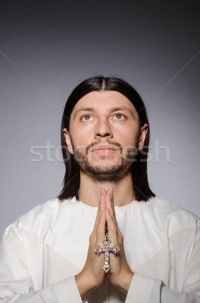 Priest man in religious concept Stock photo © Elnur
