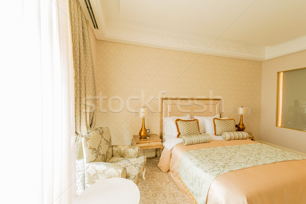 Bedroom room in modern style Stock photo © Elnur