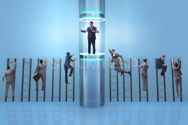 Сток-фото: бизнесменов · быстро · поощрения · исполнительного · корпоративного · компания