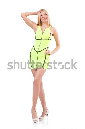 Woman in fashion clothing concept Stock photo © Elnur