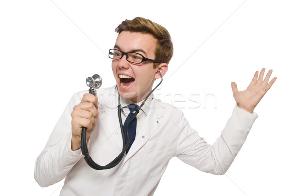Weird Doctor Stock Photo 10