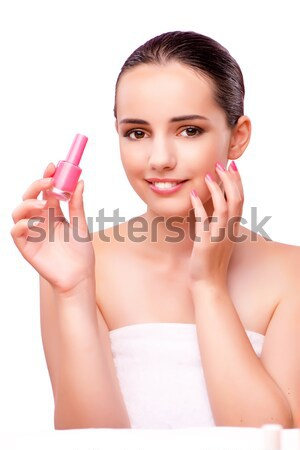 The hand manicure treatment in health concept Stock photo © Elnur