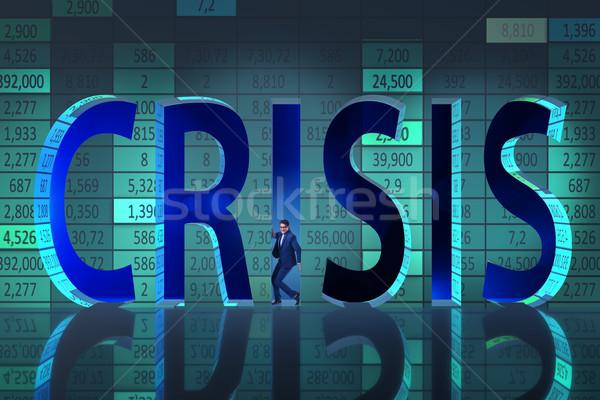 Imprenditore crisi business soldi corporate mercato Foto d'archivio © Elnur