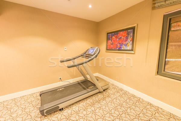 Fut futópad ház fitnessz egészség háttér Stock fotó © Elnur