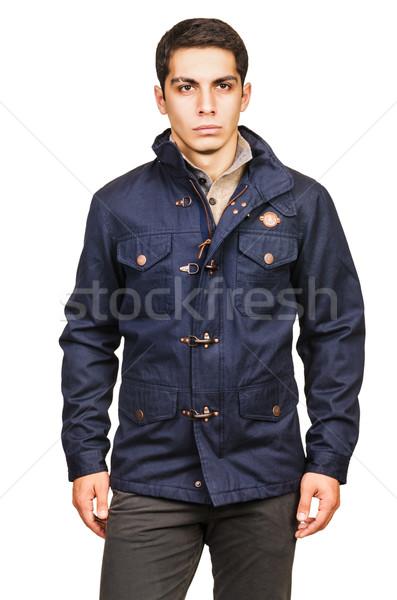 Male coat isolated on the white Stock photo © Elnur