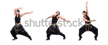 пару танцоры изолированный белый человека Dance Сток-фото © Elnur