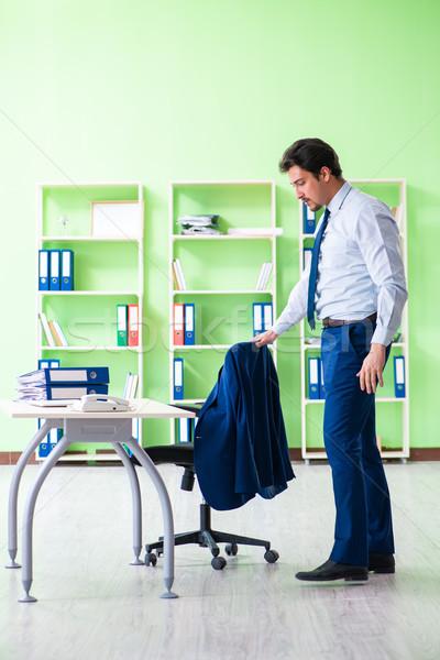 僱員 打破 工作 辦公室 男子 運動 商業照片 © Elnur