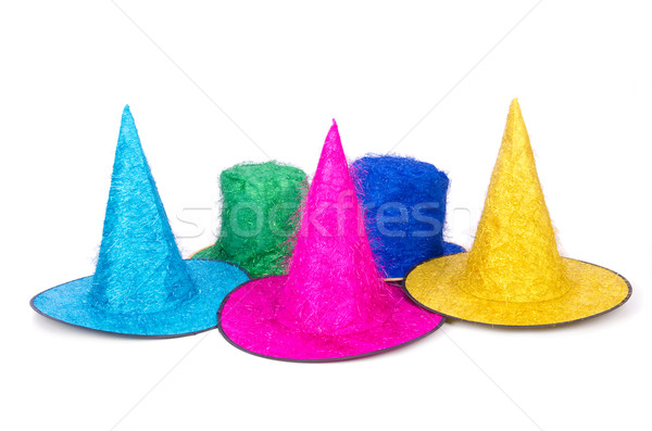Party hats isolated on the white Stock photo © Elnur