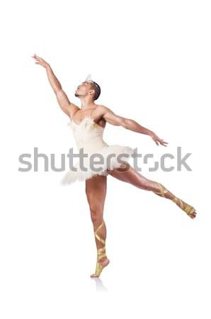 筋肉の バレエ パフォーマー 面白い 男 ファッション ストックフォト © Elnur