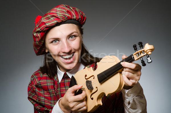 Kadın giyim müzikal kız adam çanta Stok fotoğraf © Elnur