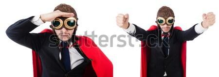 Man non kleding grappig kruis Stockfoto © Elnur