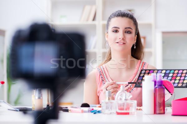 美 ファッション ブロガー ビデオ ブログ ネットワーク ストックフォト © Elnur