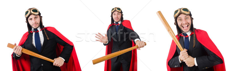 Man wearing red clothing in funny concept Stock photo © Elnur