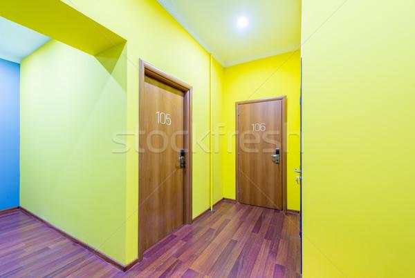 отель лобби коридор современных дизайна домой Сток-фото © Elnur
