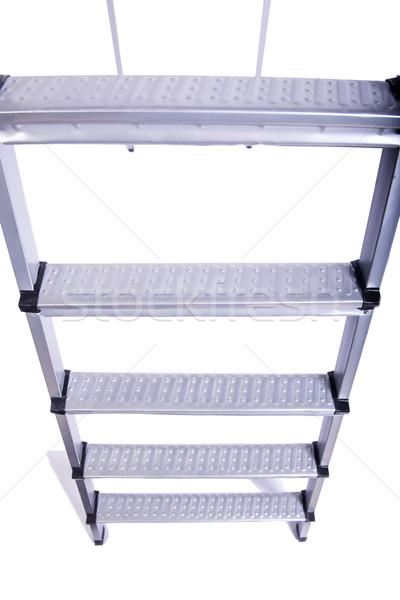 лестнице изолированный белый здании инструментом ремонта Сток-фото © Elnur