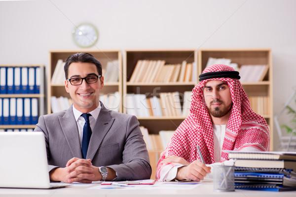 бизнеса арабских бизнесмен человека работу Сток-фото © Elnur
