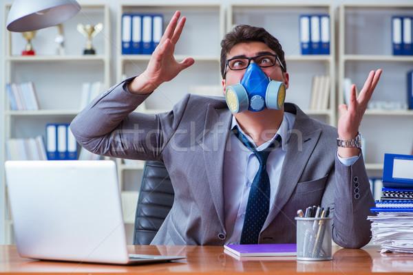 Affaires transpiration mauvais bureau travail affaires Photo stock © Elnur