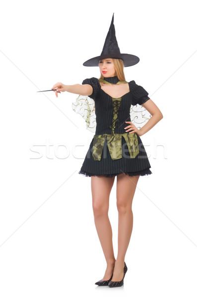 女性 マジシャン 手 背景 スーツ 黒 ストックフォト © Elnur