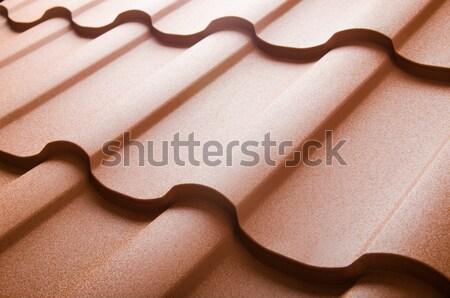 Сток-фото: металл · крыши · плитка · текстуры · строительство