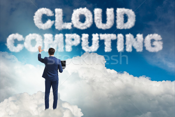 Cloud computing storage in IT concept Stock photo © Elnur
