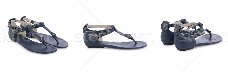 Sandal shoes isolated on the white Stock photo © Elnur