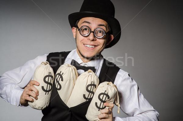 человека деньги бизнеса безопасности бизнесмен сумку Сток-фото © Elnur
