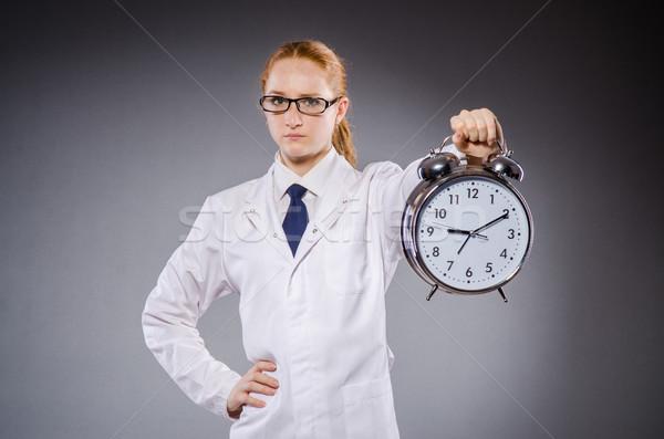 женщину врач отсутствующий Сроки медицинской больницу Сток-фото © Elnur