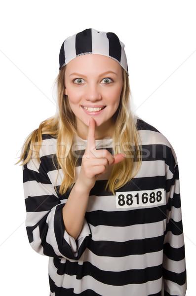 面白い 刑務所 受刑者 警察 自由 女性 ストックフォト © Elnur