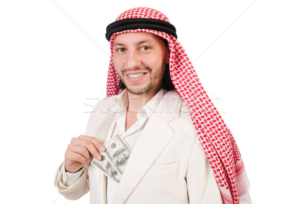 Arab uomo diversità business soldi imprenditore Foto d'archivio © Elnur