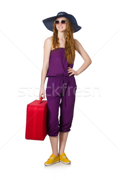 Ragazza felice moda sfondo Foto d'archivio © Elnur