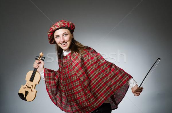 Nő ruházat musical lány férfi táska Stock fotó © Elnur