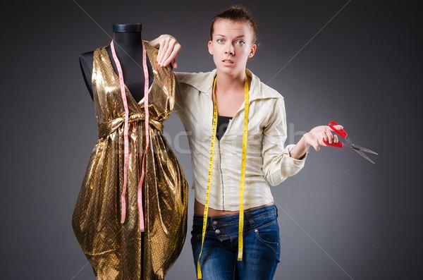 女性 テーラー 作業 服 ファッション 作業 ストックフォト © Elnur