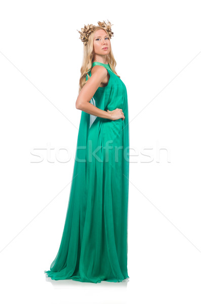 Woman in fashion clothing isolated on white Stock photo © Elnur