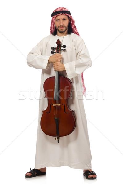 アラブ 男 演奏 楽器 音楽 芸術 ストックフォト © Elnur