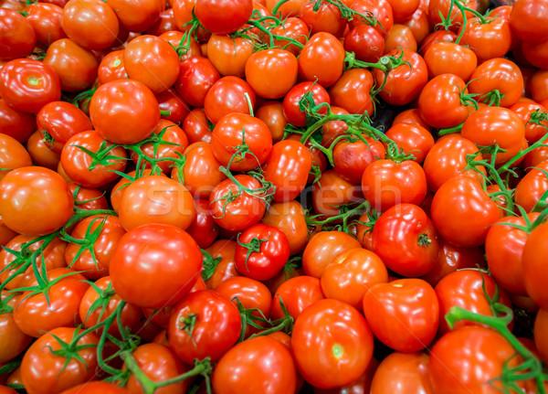 Tomatoes on the supermarket display Stock photo © Elnur
