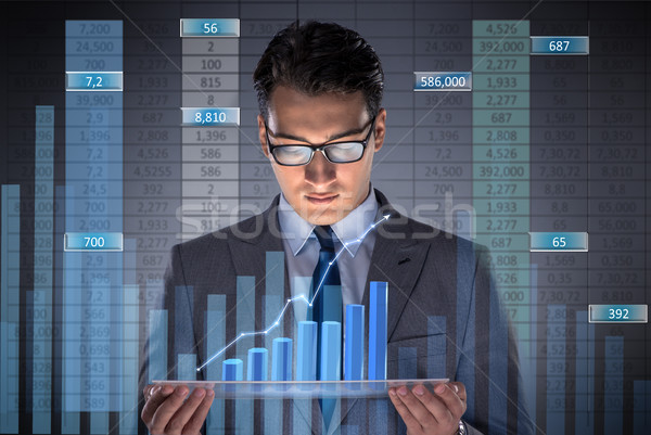 The man in stock trading business concept Stock photo © Elnur