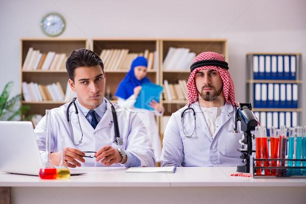 Diversité médecins hôpital médecin étudiant éducation Photo stock © Elnur