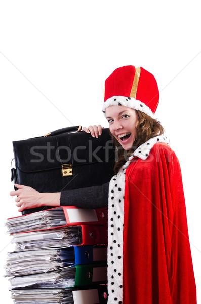 女性 クイーン 面白い 作業 ビジネスマン 執行 ストックフォト © Elnur