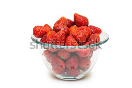 Strawberries isolated on the white background Stock photo © Elnur