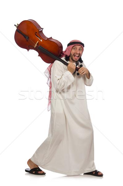 Arab uomo giocare strumento musicale musica mano Foto d'archivio © Elnur