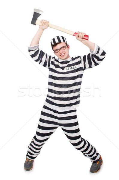 смешные тюрьмы заключенный прав весело полиции Сток-фото © Elnur