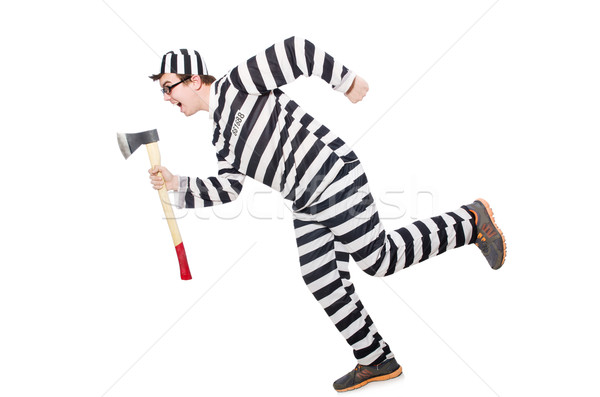 Funny prison inmate in concept Stock photo © Elnur