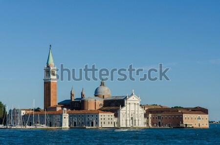 Venice view on a bright summer day Stock photo © Elnur