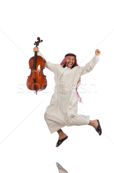 арабских человека играет музыкальный инструмент искусства концерта Сток-фото © Elnur