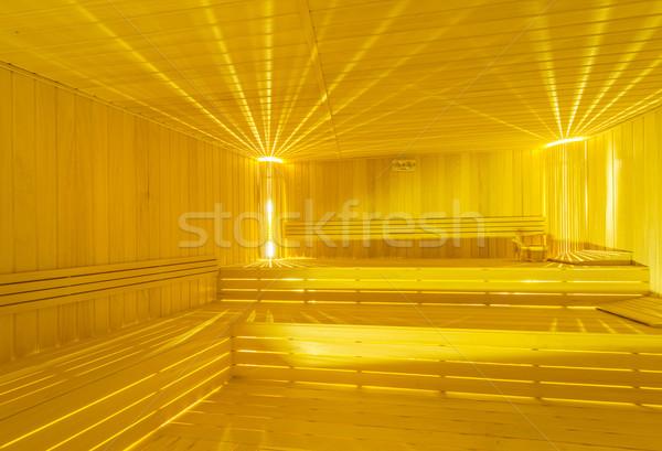Quente sauna quarto interior água Foto stock © Elnur
