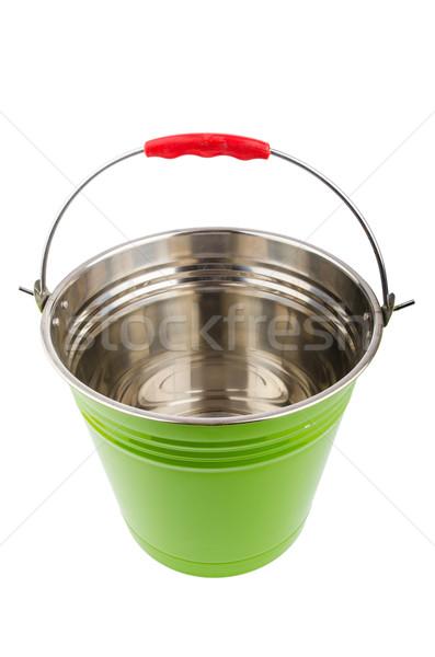 Bucket isolted on the white background Stock photo © Elnur
